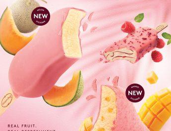 🔴 ฮาเก้น-ดาส ชวนสัมผัสประสบการณ์ความสดชื่นไปกับไอศกรีมแบบแท่งรสชาติใหม่ล่าสุด  แคนตาลูป เมล่อน และการกลับมาของราสป์เบอร์รีที่คุณชื่นชอบ